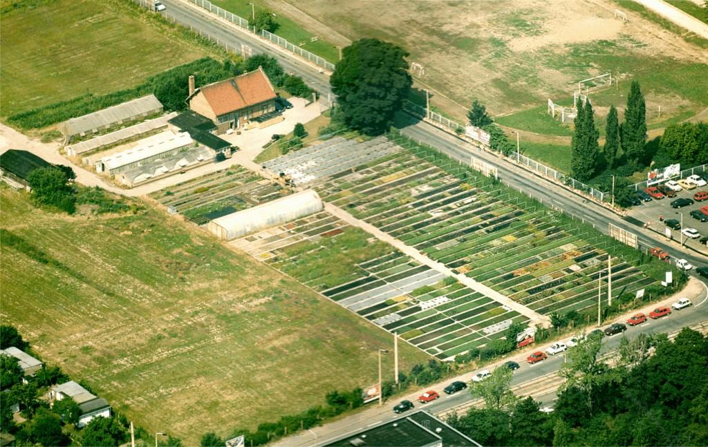 1993-1995 alter Standort Plauner Weg, Erfurt